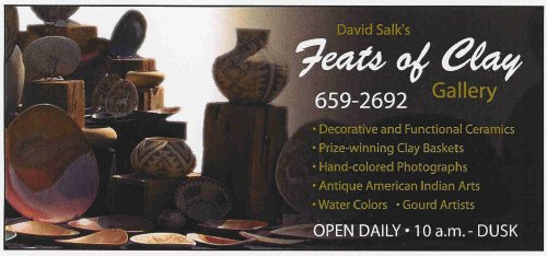 David Salk Feats Of Clay Gallery